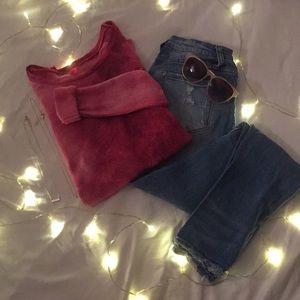 •American Eagle light sweater•